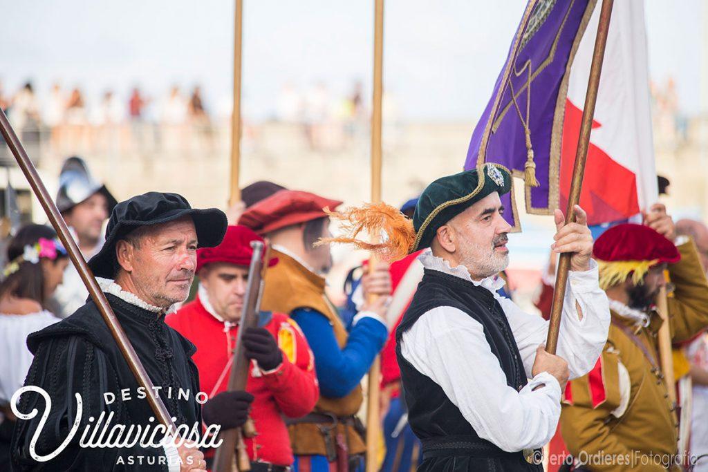 Desembarco de Carlos V en Tazones 3
