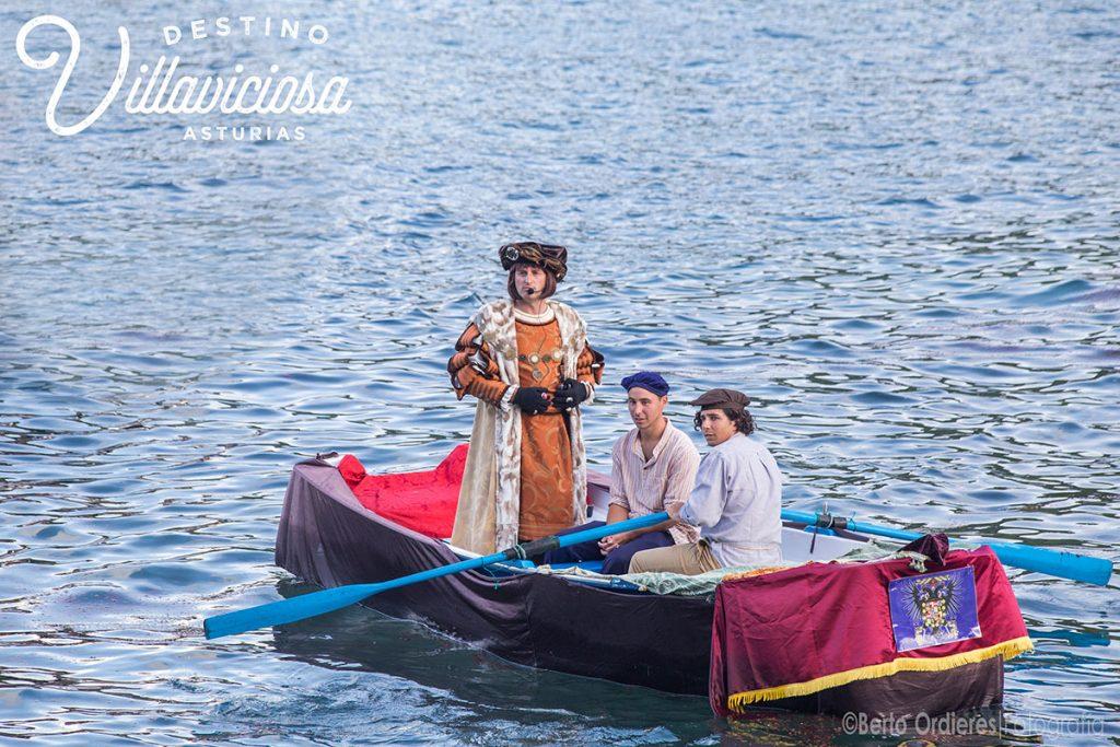Desembarco de Carlos V en Tazones 10