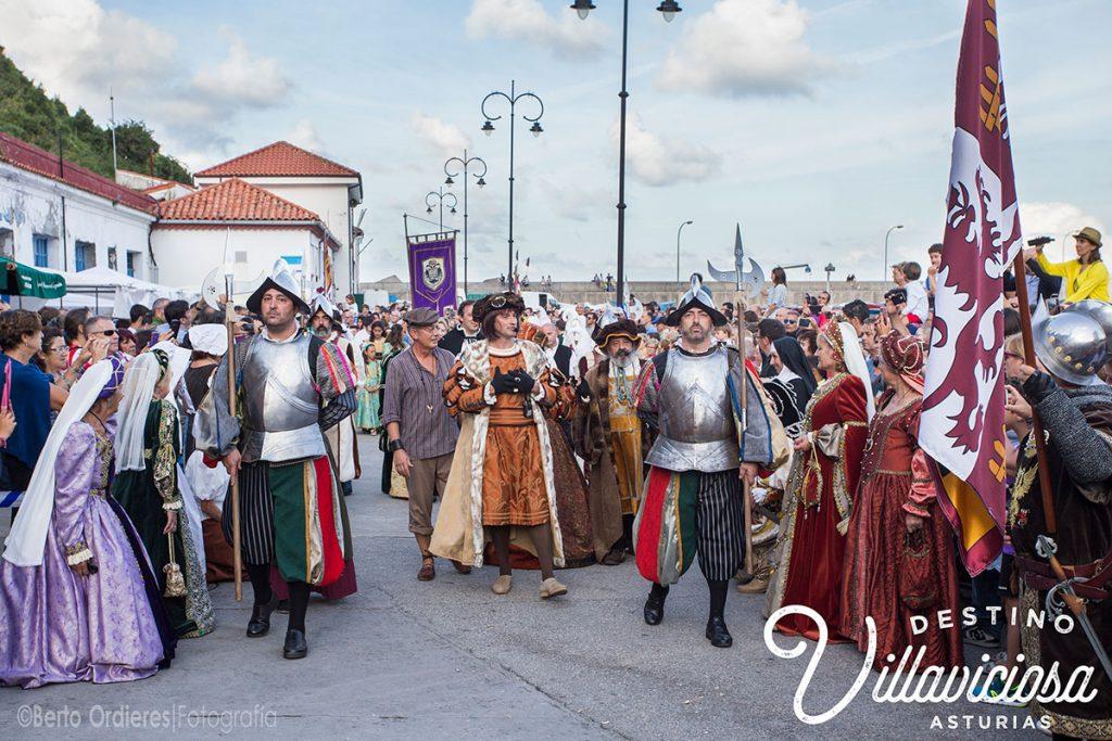 Desembarco de Carlos V en Tazones 13