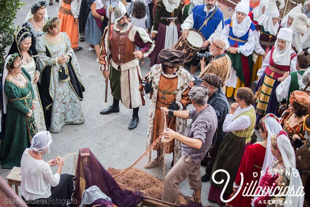 Desembarco de Carlos V en Tazones 20
