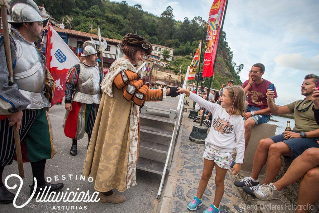 Desembarco de Carlos V en Tazones 26